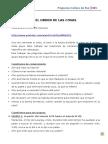 3º4ºgéneroel Orden de Las Cosas