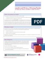 How To Write A Winning Tender.pdf