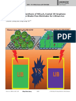 Morphology-Tuned Synthesis of NiCo2O4-Coated 3D Graphene Architectures Used as Binder-Free Electrodes for Lithium-Ion Batterries