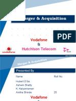 Merger Vodafone & Hutch - Anita