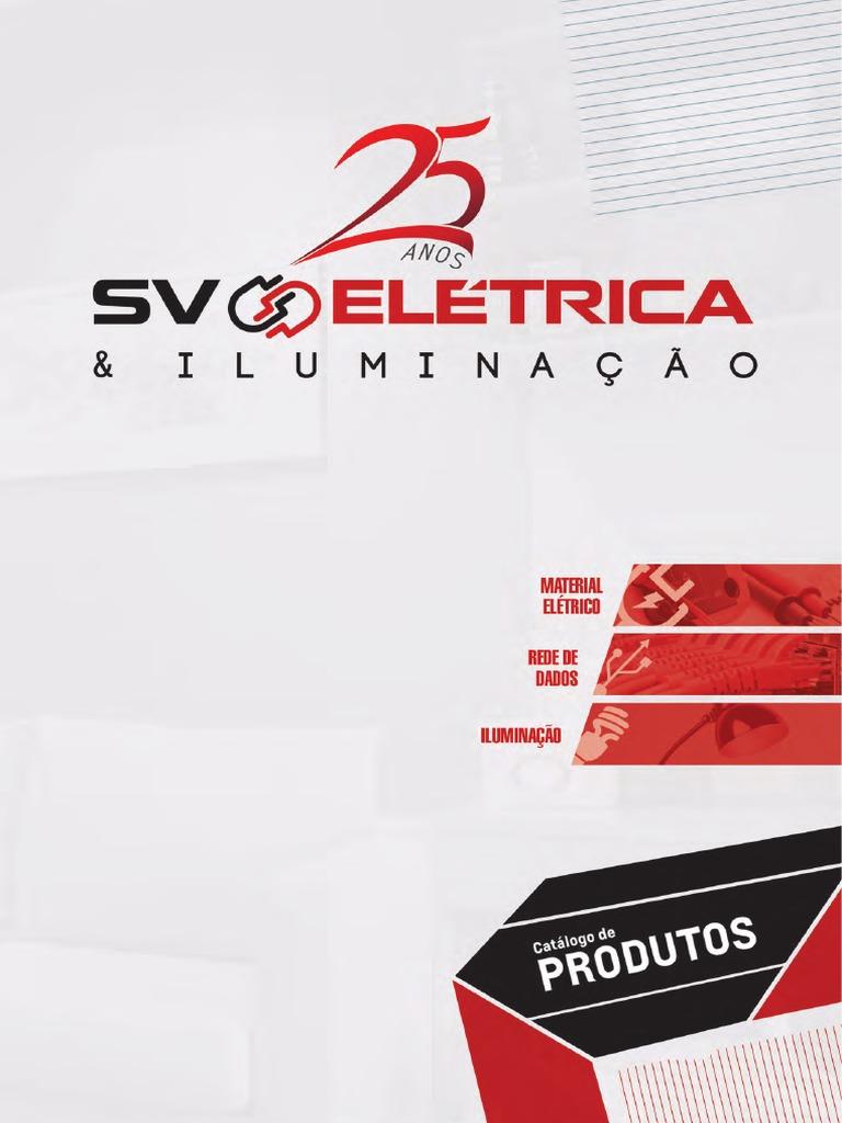 8042f124a Sv Eletrica Catalogo Sv
