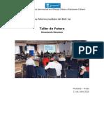 """Conclusiones del Taller """"Los futuros posibles del Beti-Jai"""" (Ayto. de Madrid)"""