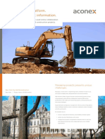 Aconex Construction Industry Brochure