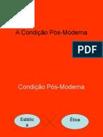 A condição pós-moderna