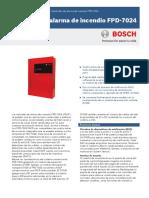 Bosch Fpd-7024 - Central de Alarma de Incendio Convencional Direccionable 4l 864