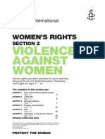 EDH Activities - Violence Against Women