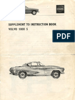 volvo p1800s stromberg 175 instruction book