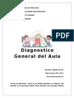 Diagnostico General Del Aula 2015