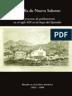 Libro Villa de Nueva Salento