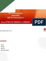 Bts3812e Dbs3800 to Dbs3900
