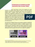 Las Diez Estrategias de Manipulación Sylvain Timsit