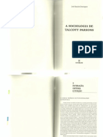 Domingues, José Maurício. Interação, Sistema e Função.