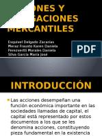 Acciones y Obligaciones Mercantiles (1)