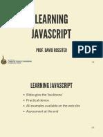 01 Learning JavaScript