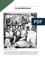 Sobre el estilo del Manifiesto Comunista