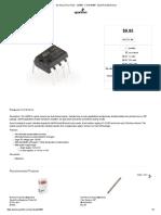 Op-Amp (Thru-Hole) - LM358 - COM-09456 - SparkFun Electronics