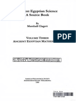 Ancient Egyptian Science a Source Book v3