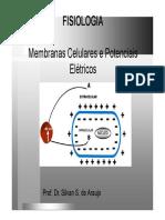 Unidade 1 Membrana e Potenciais El Tricos Modo de Compatibilidade