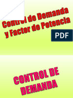 Control Demanda y Factor Potencia