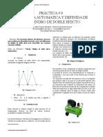 SECUENCIA AUTOMÁTICA Y DEFINIDA DE UN CILINDRO DE DOBLE EFECTO