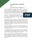 La Supervisión Educativa en Guatemala