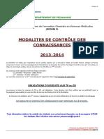 Annexe 3 - DFGSM 3 - 2013-2014