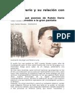 Rubén Darío y Su Relación Con El Cine de Karly Gaitán Morales