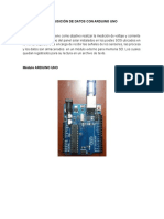 Adquisición de Datos Con Arduino Uno