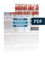Control Stock Quimicos