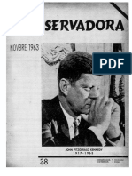 Revista Conservadora No. 38 Nov. 1963