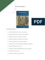 Resumen de La Poética de Aristóteles
