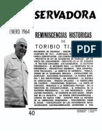 Revista Conservadora No. 40 Ene. 1964