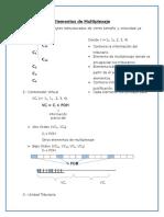 Elementos de Multiplexaje