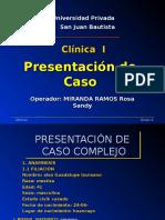 Clinica Caso Clinico