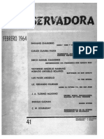Revista Conservadora No. 41 Feb. 1964