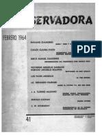 Revista Conservadora No. 41 Feb. 1964