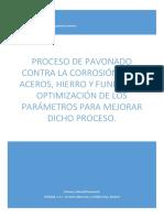 CARBONELL - Proceso de Pavonado Contra La Corrosión Para Aceros- Optimización de Los Parámetros p...
