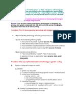 Outline Informative Essay