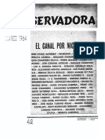 Revista Conservadora No. 42 Mar. 1964