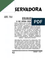 Revista Conservadora No. 43 Abr. 1964