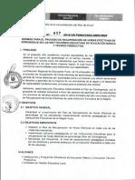Directiva 037 Recuperacion de Horas Efectivas