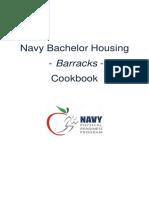 Navy Bachelor Housing - Barracks - Cookbook