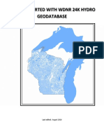 Getting Started With Wdnr 24k Hydro Geodatabase