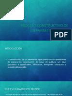 Proceso Constructivo de Pavimento