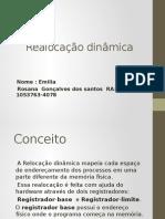 REALOCAÇAO DINAMICA 22