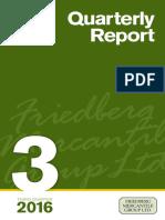 Friedberg 3Q Report