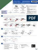 Guía de Configuración Rápida Impresora Brother HL-6200DW