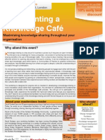Implementing a Knowledge Cafe
