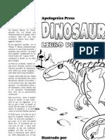 Dinosaurios Libro Para Colorear (Spanish)