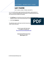 IMF PolicyPapers FiscalPolicyLongTermGrowth
